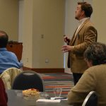 Dr. Josh Eyler leads Faculty Development Luncheon